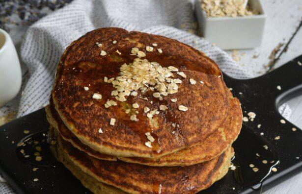 Pancakes με maple syrup
