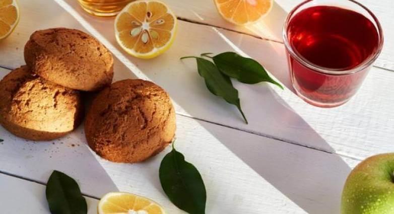 Μπισκότα με άρωμα λεμόνι