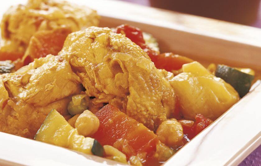 Κουσκούς με κοτόπουλο και λαχανικά